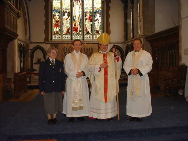 Confirmation by Bishop Keith Newton 3rd October 2004